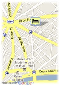 map-Hotel Chateaubriand