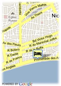 map-Hotel Westminster Concorde
