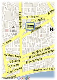 map-Best Western Hôtel Riviera