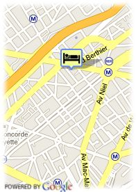 map-Hotel Cheverny