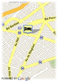 map-Hotel Ampere