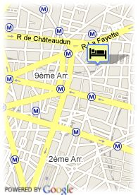 map-Lodge Du Centre