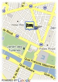 map-Hotel Des Tuileries