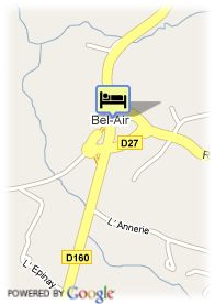map-Hotel Les Archers