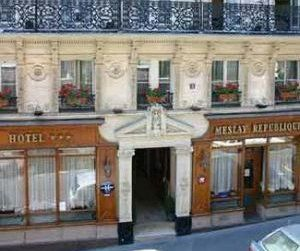 Hotel Meslay Republique in Parijs