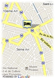 map-Hotel Paix Republique
