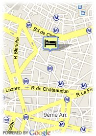 map-Hotel Paris