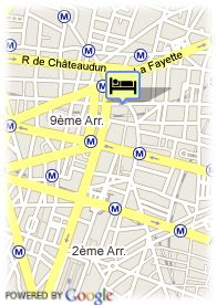 map-Hotel De Hollande