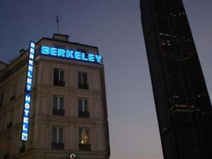 Hotel Berkeley in Parijs