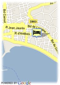 map-Hotel Cristal