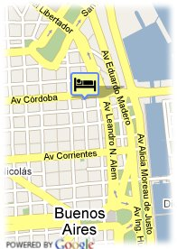 map-Hotel Amerian Buenos Aires Park
