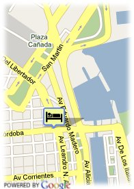 map-Hotel Regal Pacific