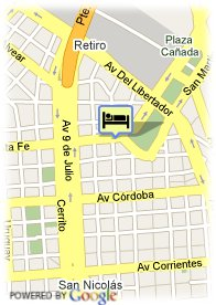 map-Hotel Loi Suites Esmeralda