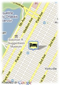 map-The Franklin Hotel