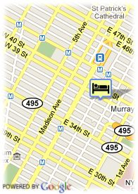 map-Hotel Murray Hill East Suites