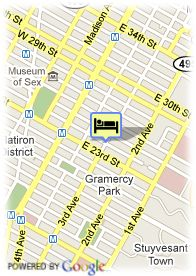 map-Hotel Marcel At Gramercy