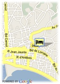 map-Hotel Cezanne