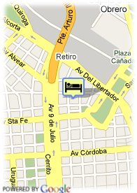 map-Hotel Loi Suites Arenales