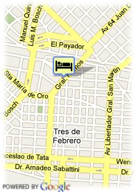 map-Hotel Palermo Suites