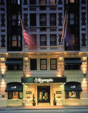 Hotel Algonquin in New York