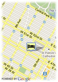 map-The Hotel at Times Square