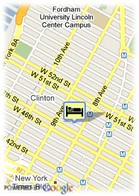 map-Hotel New York Inn