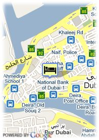 map-St. George Hotel