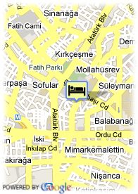 map-Black Bird Hotel