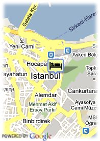 map-Hotel Yasmak Sultan