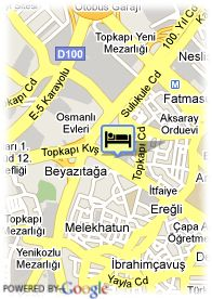 map-Hotel Barcelo Eresin Topkapi
