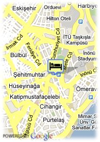 map-Hotel B.W. Eresin Taxim