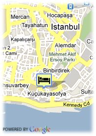 map-Hotel Eresin Crown