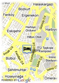 map-Hotel Eresin Taxim