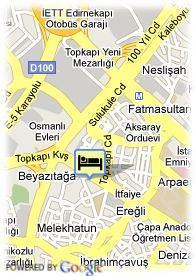 map-Hotel Holiday Inn Istanbul City