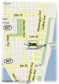 map-Hotel Royal South Beach