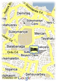 map-Hotel Barcelo Saray