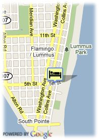 map-Hotel Sense South Beach