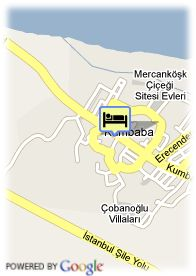 map-Hotel Dedeman Sile