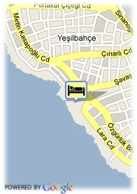 map-Dedeman Antalya Hotel and Convention Center