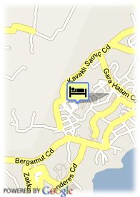 map-Hotel Dedeman Bodrum