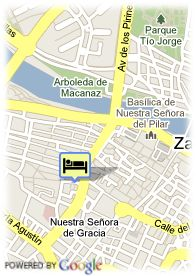 map-Hotel Habitat Center Los Girasoles