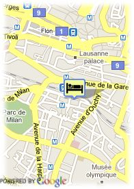 map-Hotel AlaGare