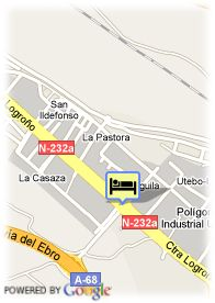 map-Hotel El Aguila