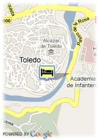 map-Hostal Maravilla