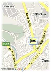 map-Hotel Rey Don Sancho