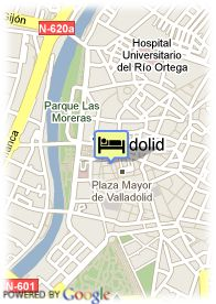 map-Hotel Zenit Imperial