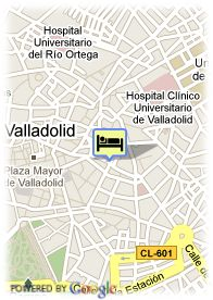 map-Hotel Catedral