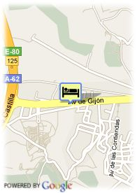 map-Hotel Conde Ansurez
