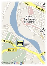 map-Hotel Silken Cigarral El Bosque