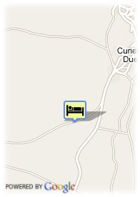 map-Hotel Resid. Real Castillo De Curiel